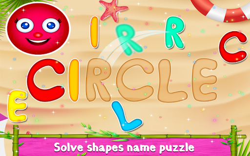Kids Shapes Learning -  Educational Game For Kids  captures d'écran 3