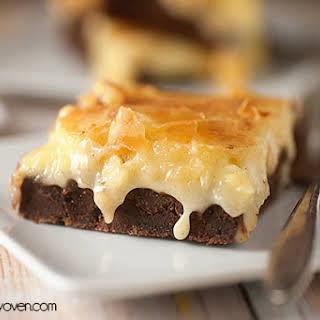 Gooey Butter Brownies.