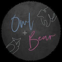 Owl + Bear logo