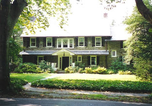 Photo: Chestnut Hill section of Philadelphia, colonial revival