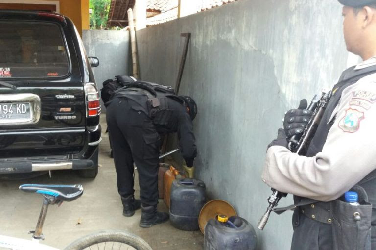 Bahan bom milik terduga teroris asal Ngawi berdaya ledak tinggi