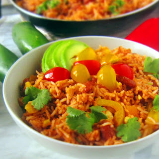 Mexican Kidney Bean Vegan Fried Rice.