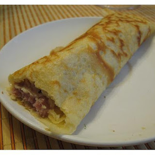 Cheese Crepes Filling.