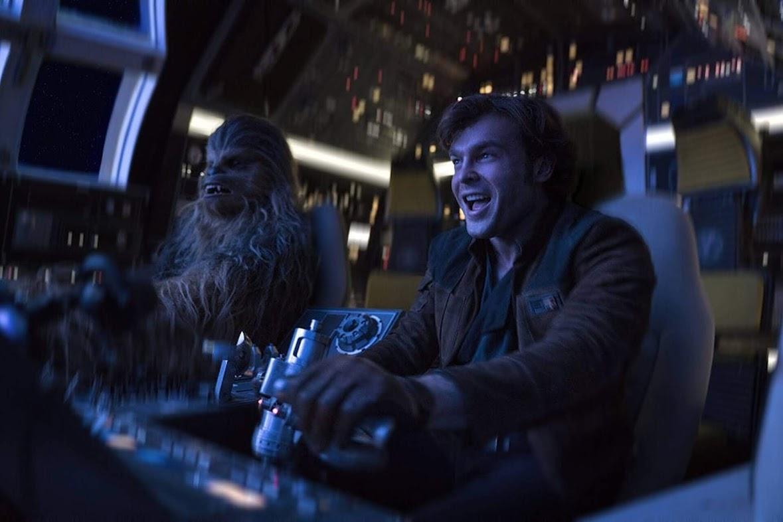 Han Solo - Gwiezdne Wojny - Historie - Han i Chewie w Sokole Millenium