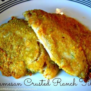 Parmesan Crusted Ranch Tilapia.