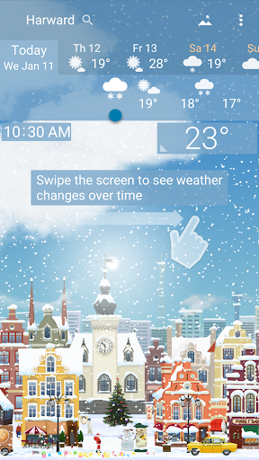 Awesome Weather - YoWindow screenshot