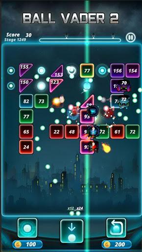 Brick puzzle master : Ball Vader2 android2mod screenshots 3