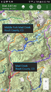 Stream Map USA - Mountain West- screenshot thumbnail