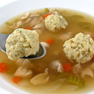 Skinny Matzo Ball Soup
