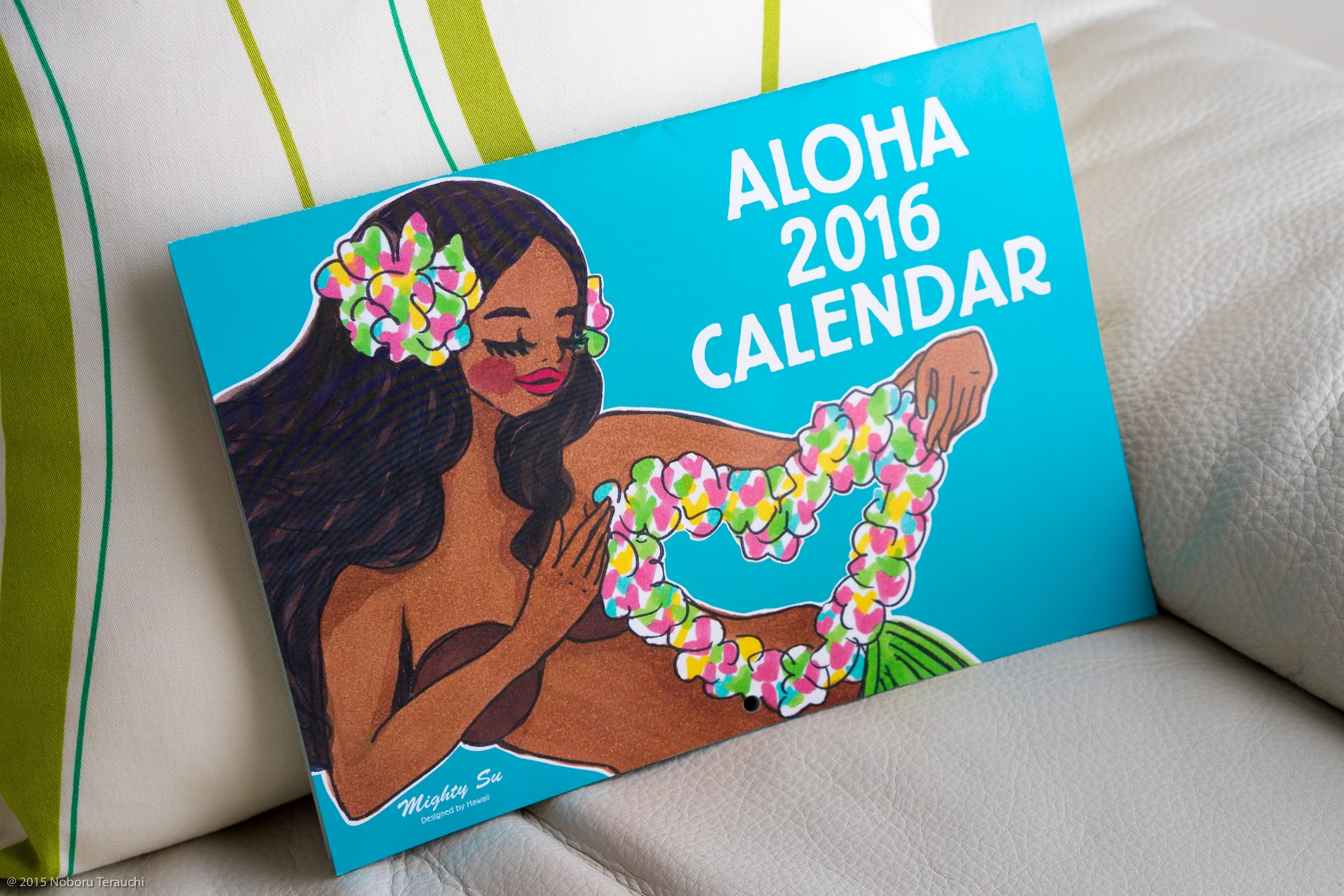 ALOHA 2016 CALENDAR ARTWORK BY MIGHT SU