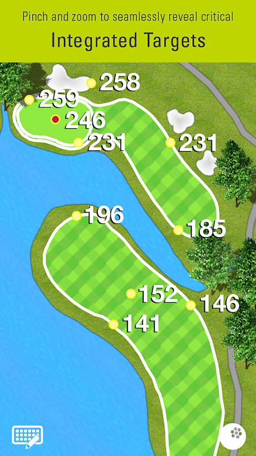 SkyCaddie Mobile Golf GPS- screenshot