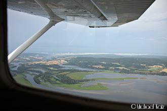 Photo: Skyrester over Fetsund.