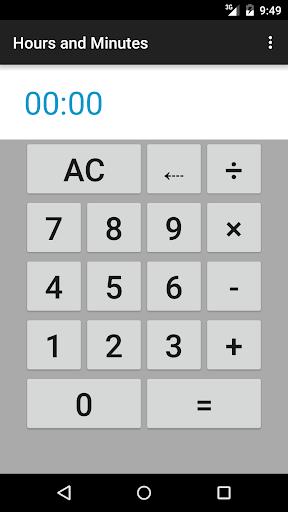 Hours Minutes Calculator