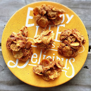 Peanut Butter Cornflake No-Bakes Recipe