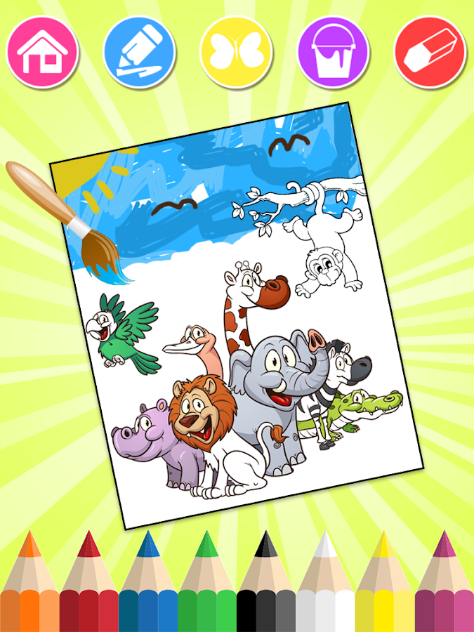 Animals Coloring Pages- screenshot