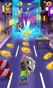 Talking Tom Gold Run Screenshot