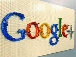 Photo: Google+ in Lego Form