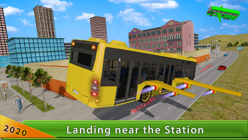 Flying Bus Driving simulator 2019: Free Bus Games 2.6 de.gamequotes.net 4