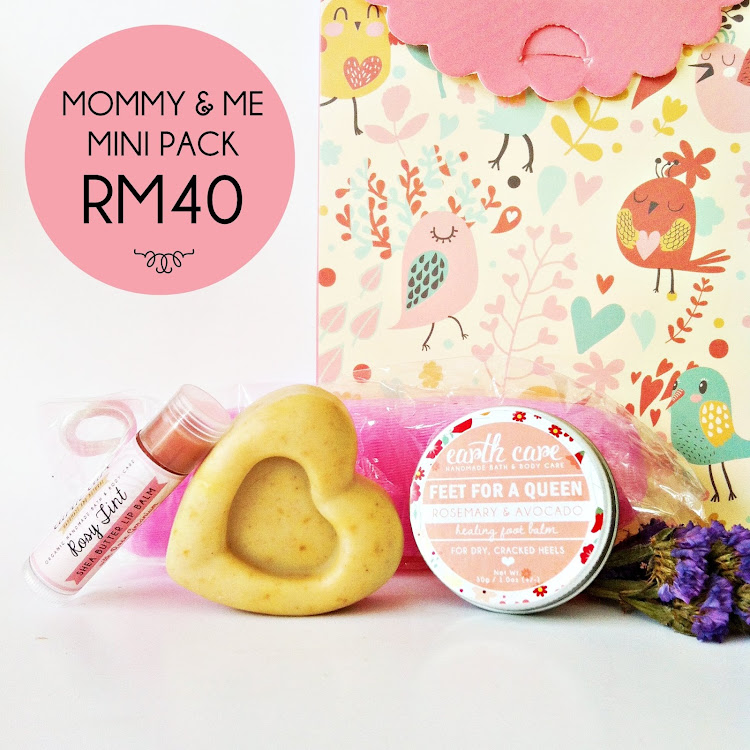 Mommy & Me Mini Pack by Earth Care Soaps