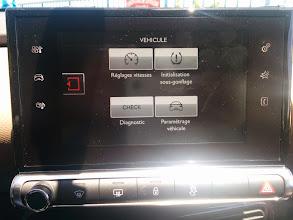 Photo: Paramétrage véhicule