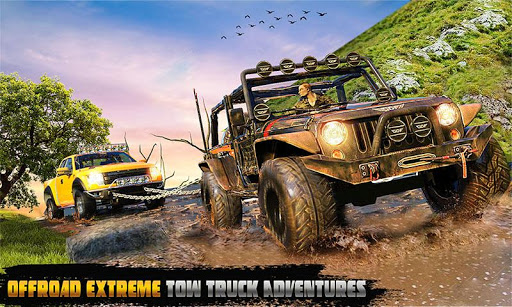 Spin Tires Offroad Truck Driving: Tow Truck Games Apk 1