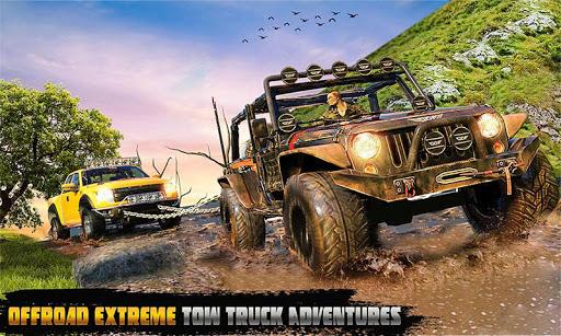 Spin Tires Offroad Truck Driving: Tow Truck Games 1.3 Mod screenshots 1