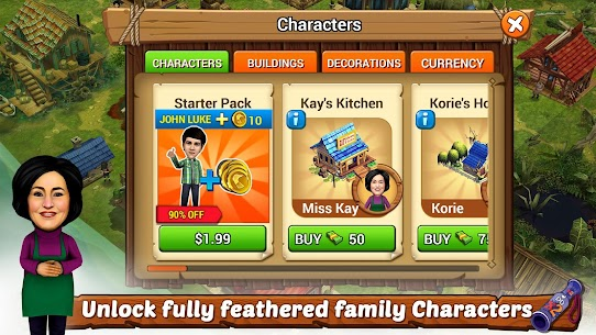 Duck Dynasty® Family Empire MOD (Unlimited Gold) 5