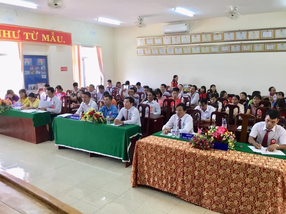 Đại hội đại biểu  công đoàn cơ sở Trung tâm y tế huyện Đăk Glong  lần thứ nhất, nhiệm kỳ 2019 – 2023