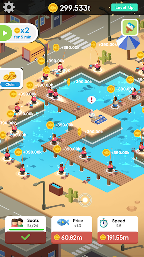 Idle Angler Tycoon screenshot 3