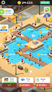 Idle Angler Tycoon MOD APK [Unlimited Money + No Ads] 3