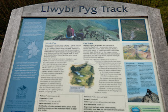 Photo: Our first day in Wales. We hiked up the Pyg track to the summit of Snowdonia Peak and down the Miner's track. We really enjoyed this hike.