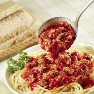 Quick Spaghetti with Meat Sauce.