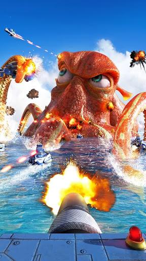 Sea Game: Mega Carrier screenshots 4