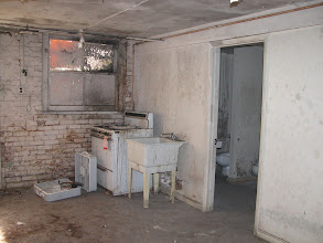 Photo: October 2003 - Month 2: Room 102 - Stove, Utility Sink and Shared Bath