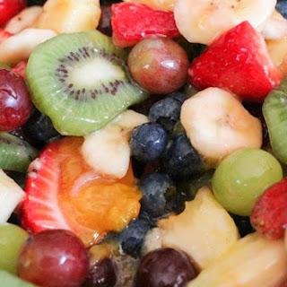 Vanilla Fruit Salad.