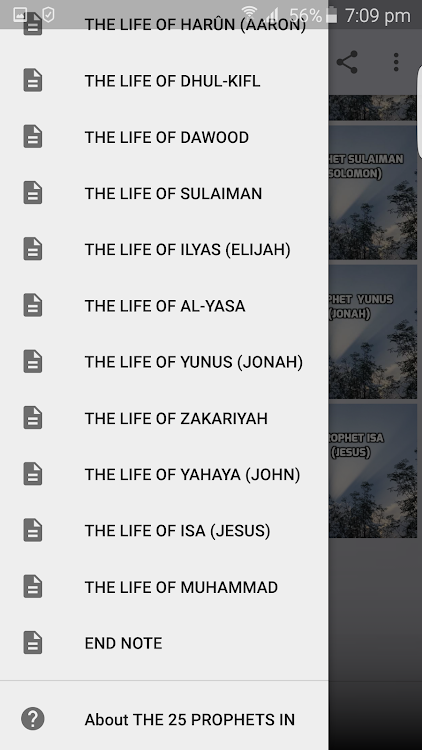 STORIES OF THE 25 PROPHETS IN ISLAM – (Android Apps) — AppAgg