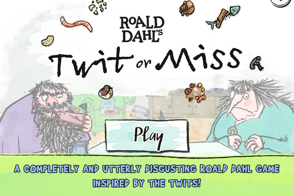 Roald Dahl's Twit or Miss- screenshot