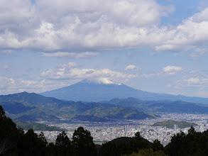 満観峰から富士山