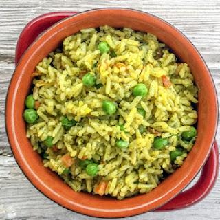 Pressure Cooker Rice Pilaf