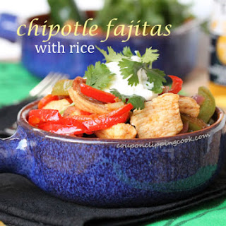 Chipotle Chili Fajitas and Rice