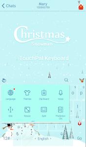 Christmas Snowman Xmas Theme screenshot 2