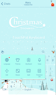 Download Christmas Snowman Xmas Theme For PC Windows and Mac apk screenshot 3