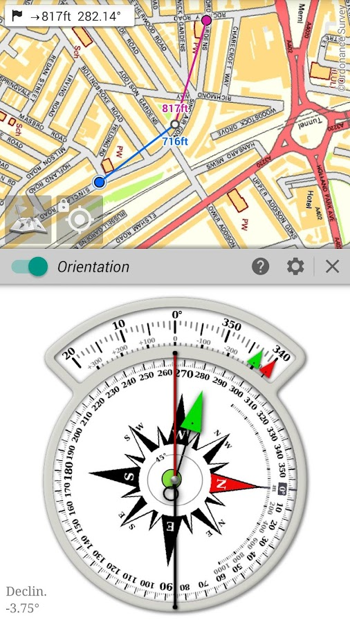 All-In-One Offline Maps- screenshot