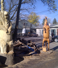 Photo: Wood carvings - Nashville IN