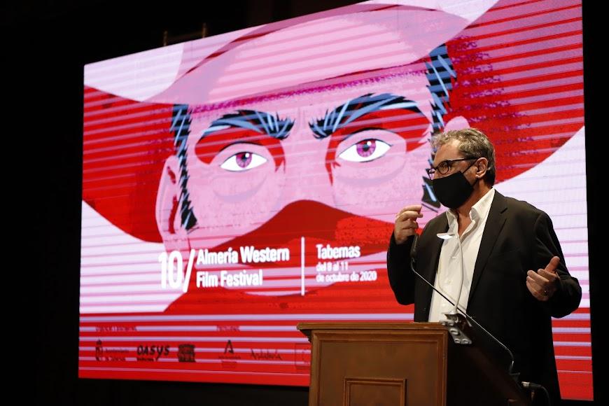 Eduardo Trías, director del Almería Western Film Festival.