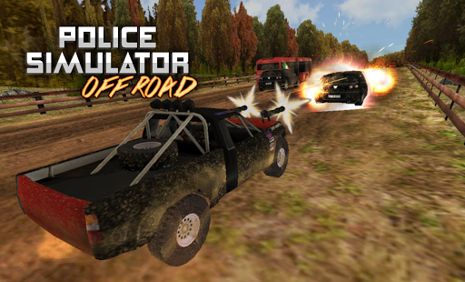 POLICE Offroad Simulator HD 1 screenshots 24
