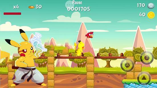 Pikachu Runing Dash! - náhled