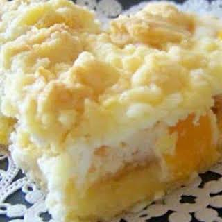 Cream Cheese Peach Pie Delight.