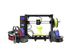 LulzBot TAZ Pro Industrial 3D Printer Professional Bundle