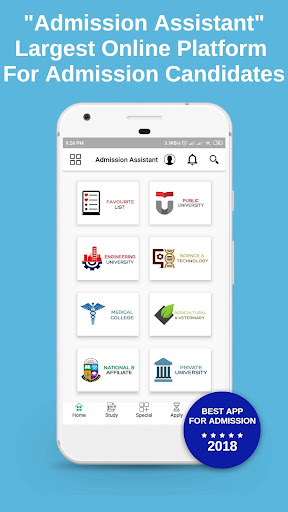 admission assistant screenshot 1